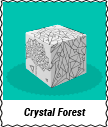 "Starter Kit ""Cube"" Crystal Forest"